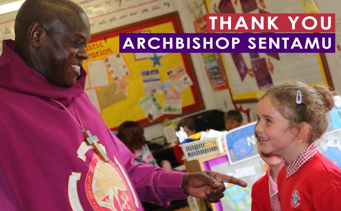Thank you, Archbishop Sentamu