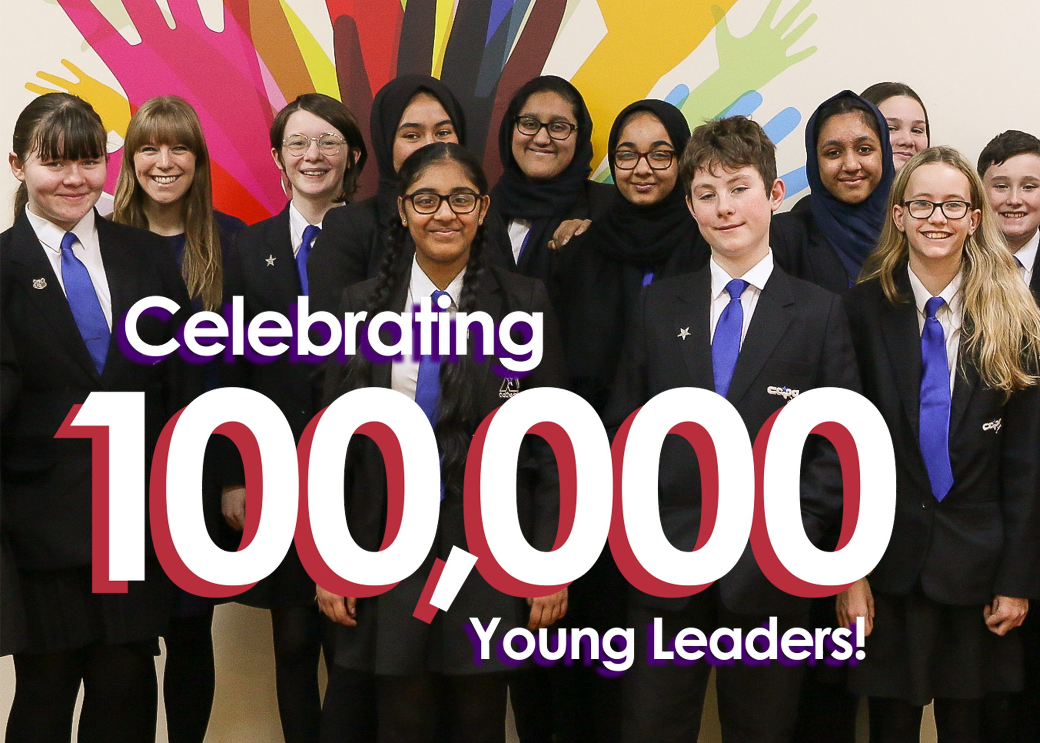 Celebrating 100,000 Young Leaders!