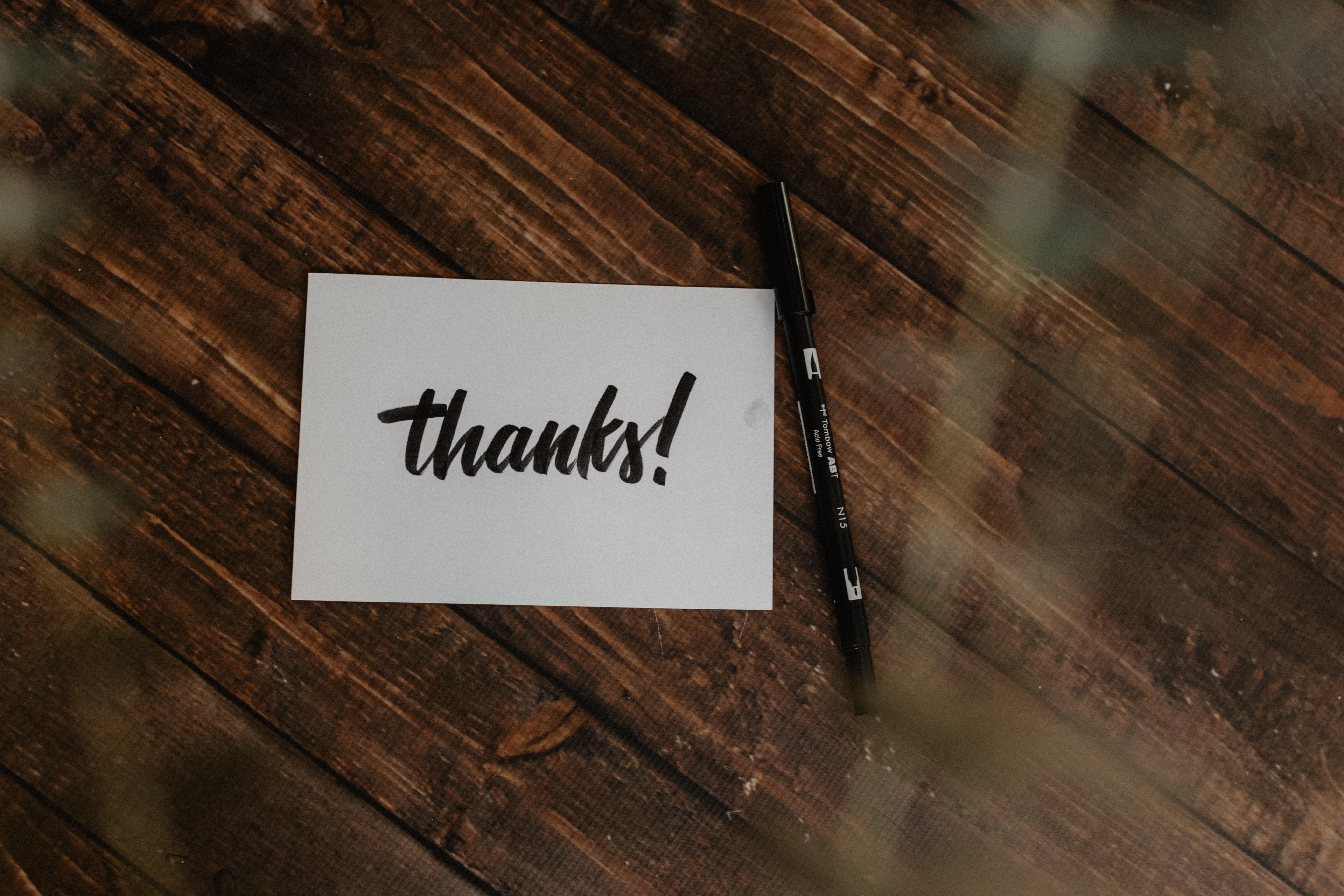 Thankfulness - Practicing Gratitude