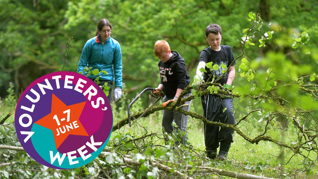 The Importance of Children and Young People Volunteering - Volunteers' Week 2021
