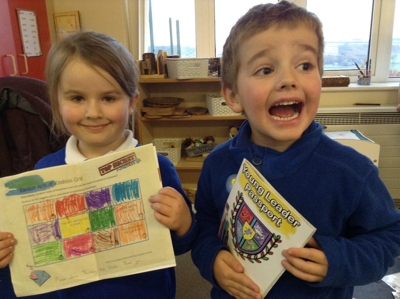 KS1 Pupils Spread Joy with Sunflowers