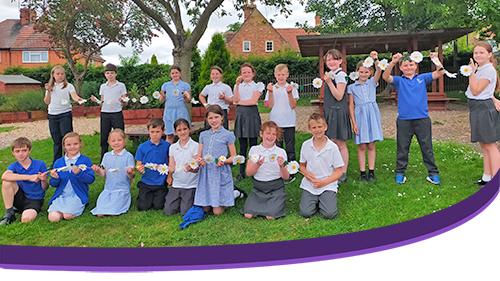 KS2 Pupils support Children's Bereavement Centre