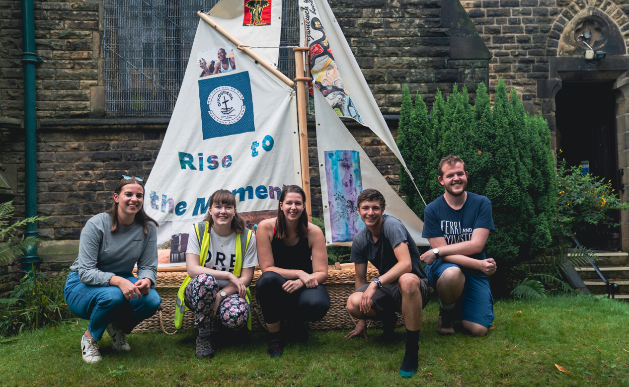 York Welcomes Young Christian Climate Change Campaigners Walking to Glasgow