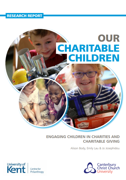 COVER: Our Charitable Children: Engaging Children in Charities and Charitable Giving (2019)