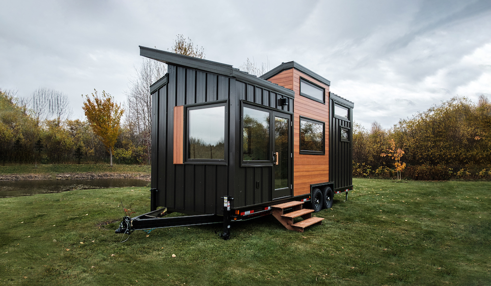 The Fritz tiny home brings big living to a tiny space! With large windows, a spacious open floor plan and modern Scandinavian style threaded throughout, this new tiny house will surely make you swoon.