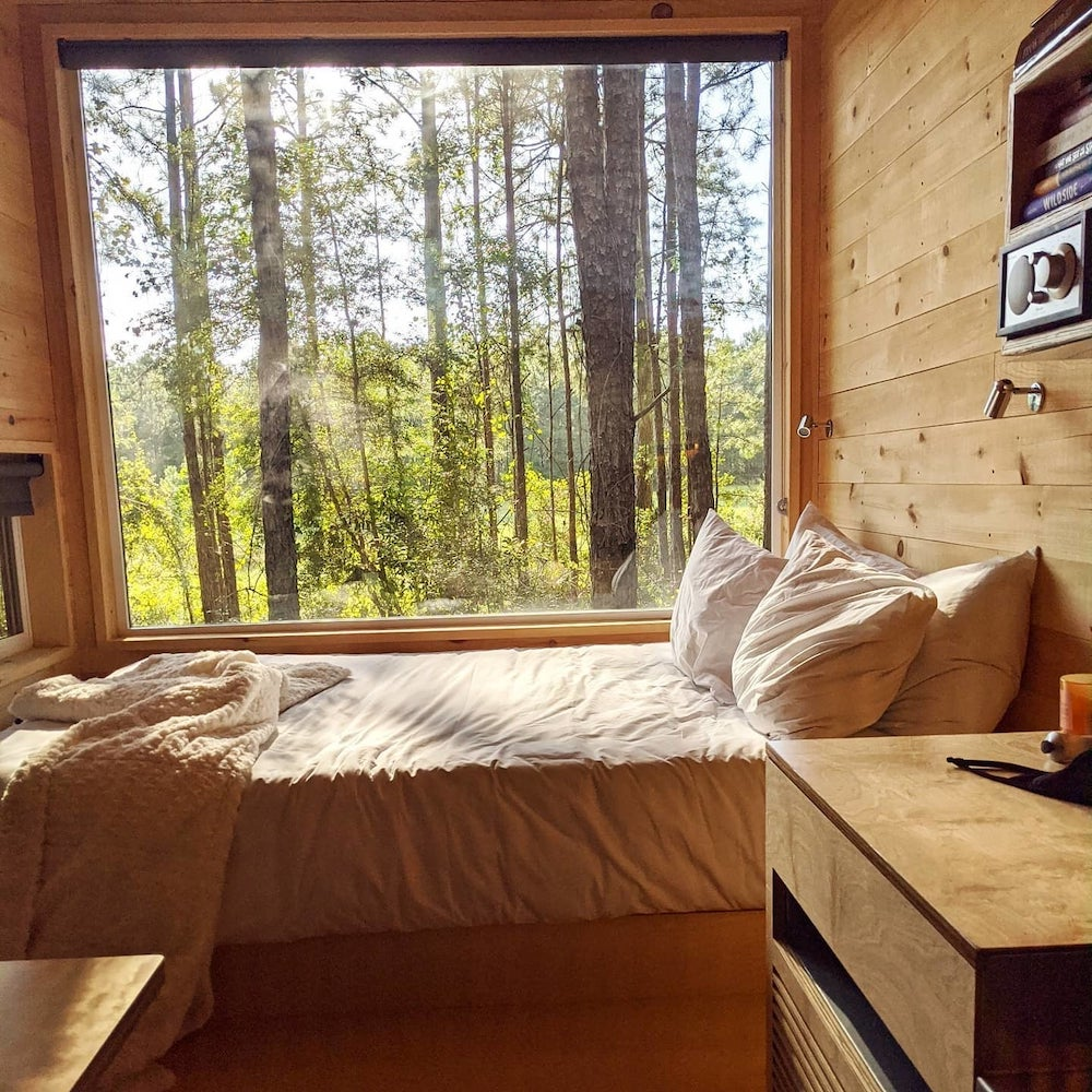 Getaway Tiny House with incredible view of natural forrest