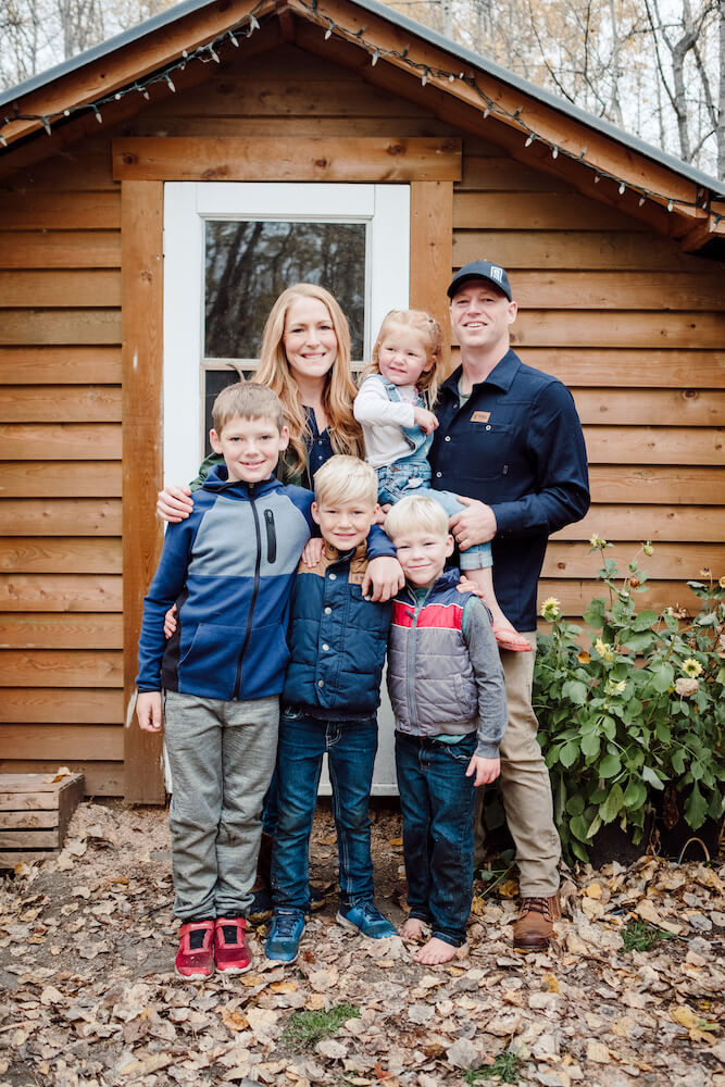 Fritz Tiny Home Family