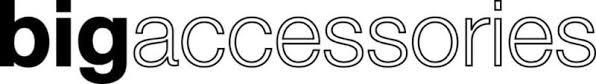 The bigaccessories brand logo