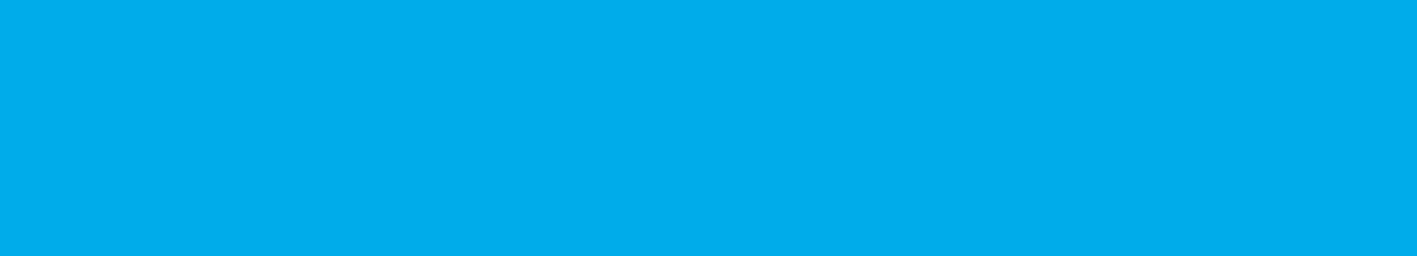 A blue bar with white writing on it.