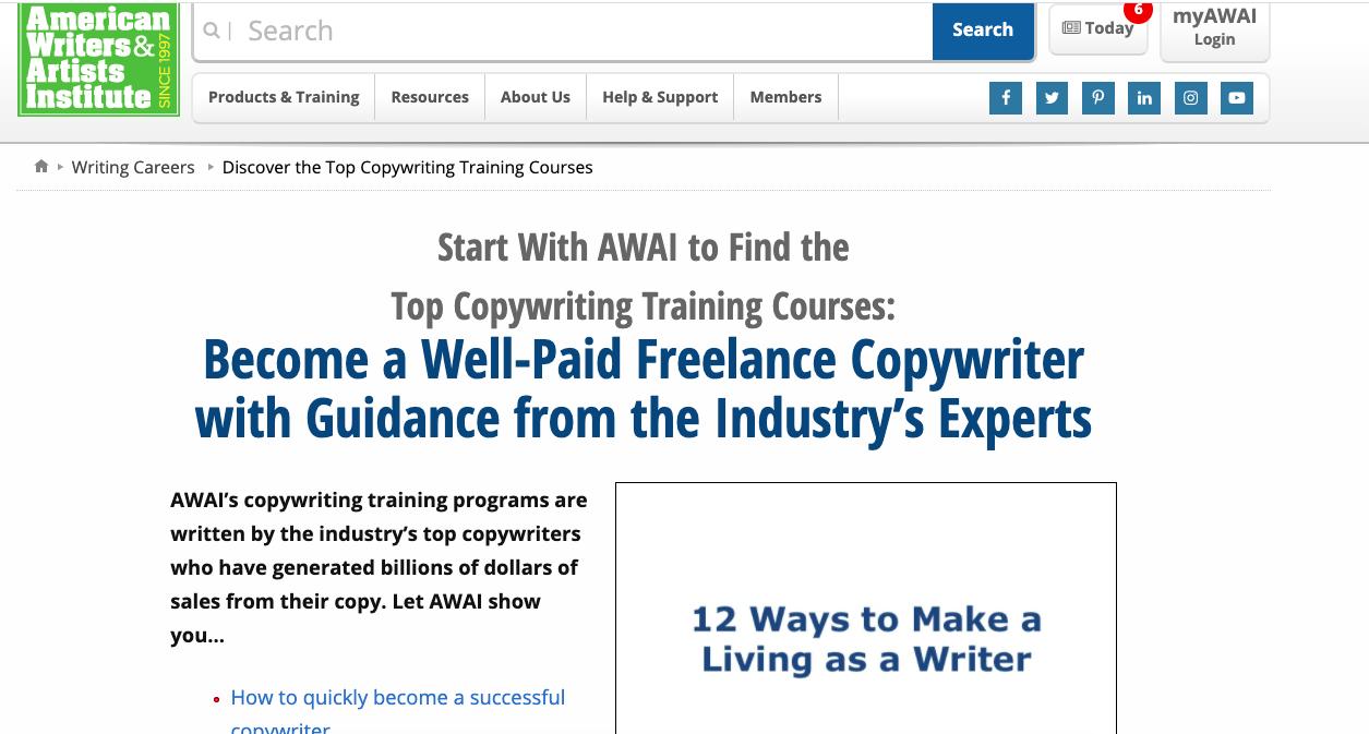 AWAI Copywriting Course