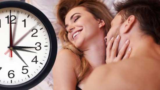 5.Thời gian quan hệ lâu giúp phụ nữ lên đỉnh nhiều hơn