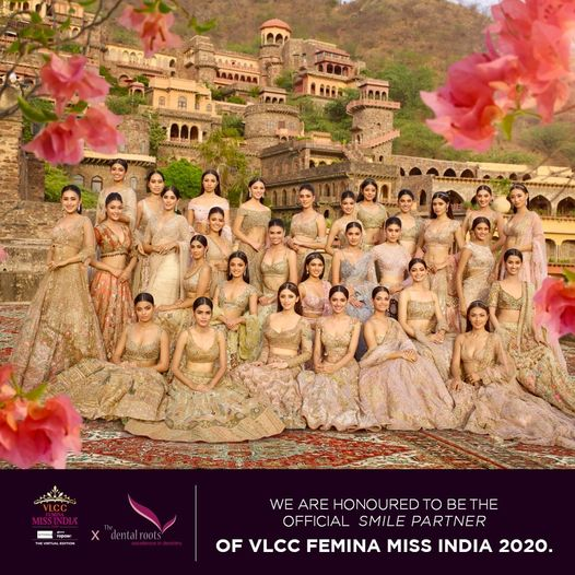 We are Proud to be the Official Smile Partner of VLCC Femina Miss India 2020