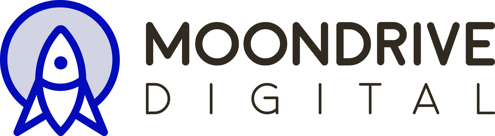 Moondrive Digital Media Logo - blue