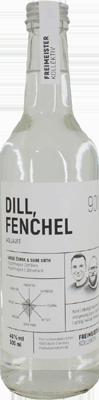 Dill, Fenchel Aquavit