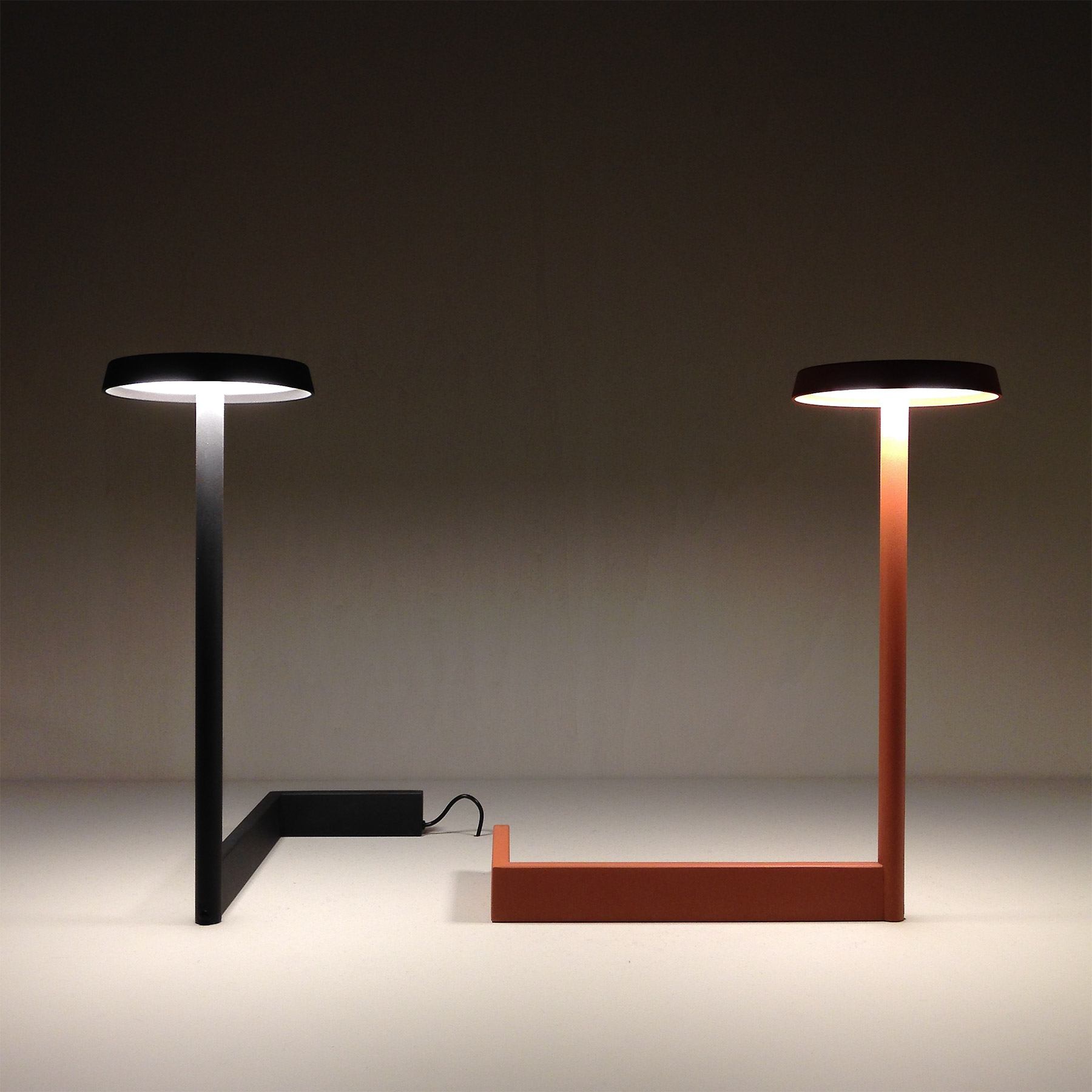 Flat table lamp by Ichiro Iwasaki for Vibia