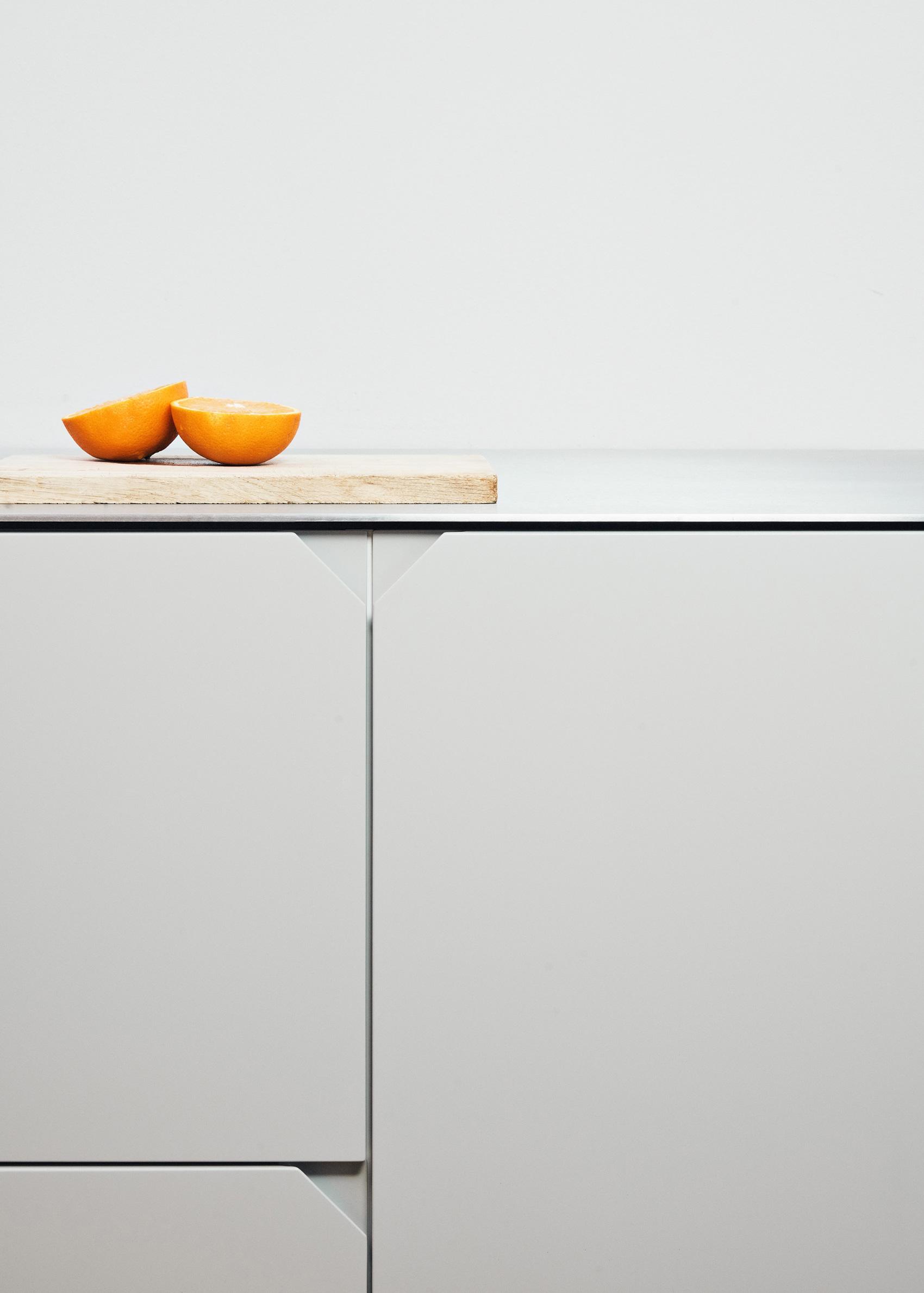 Degree kitchen in grey by Reform