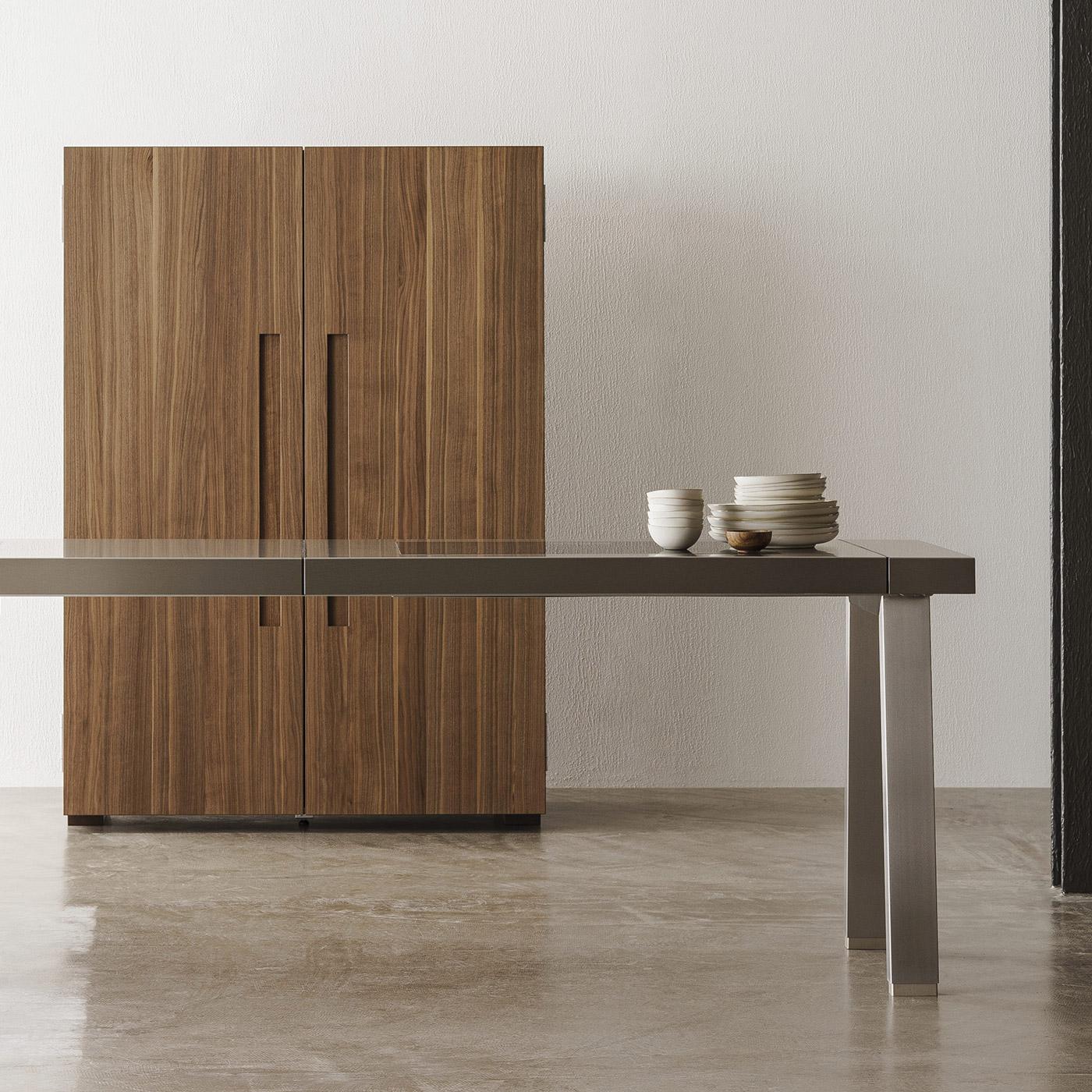 minimal b2 kitchen workshop by Bulthaup