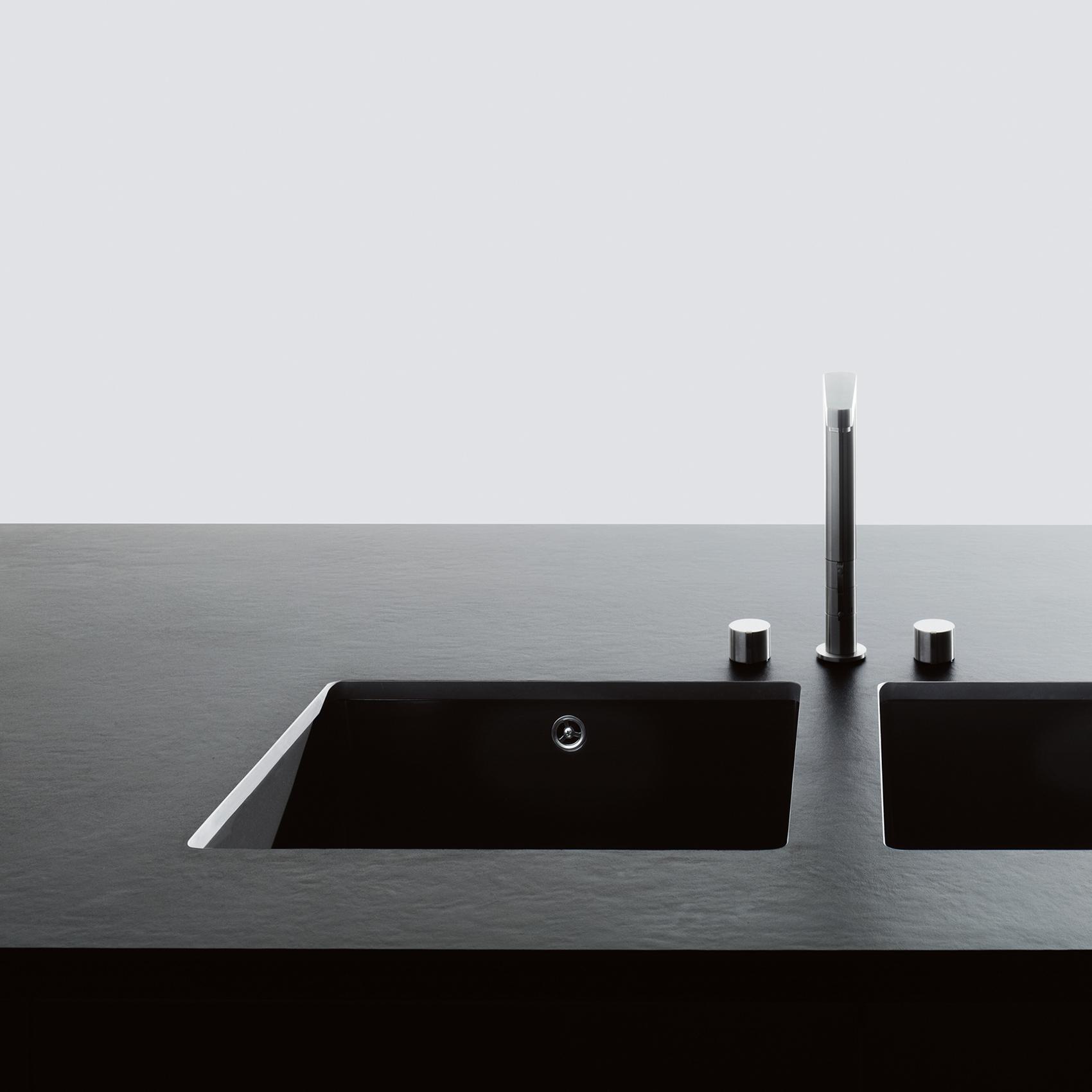 Boffi K14 kitchen sink detail