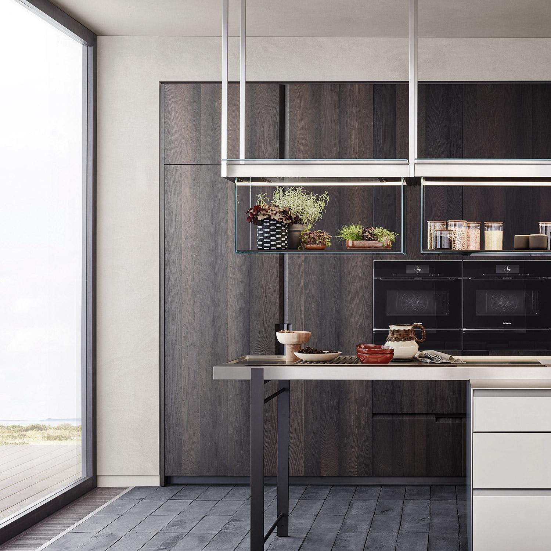 Shape kitchen by Poliform