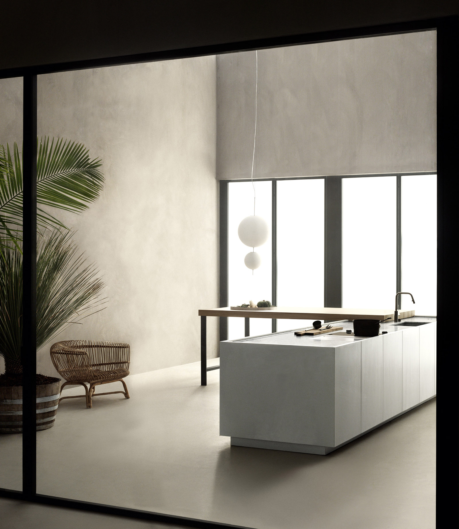 K21 kitchen by Norbert Wangen for Boffi