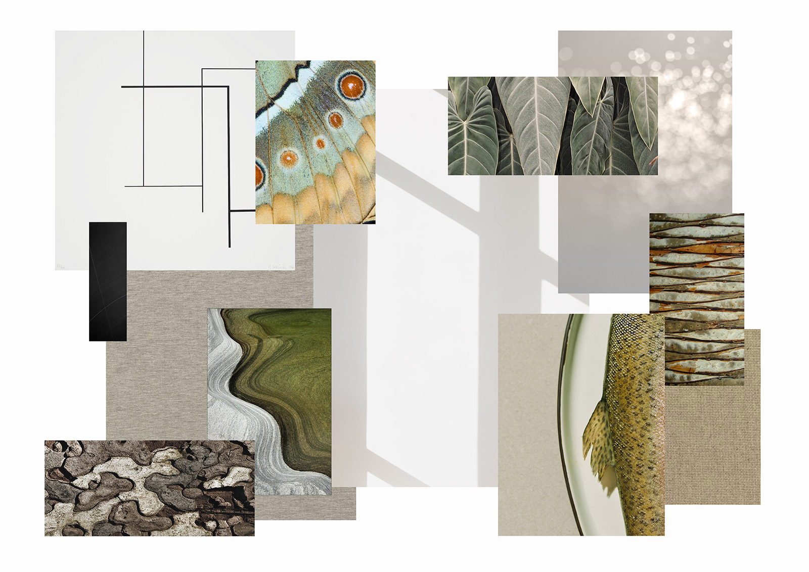 Studio Hazeldean interior design concept board