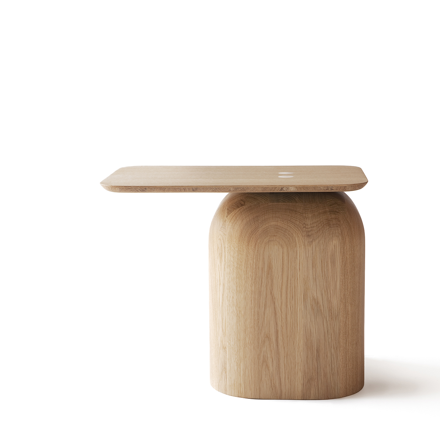 April oak side table by Nikari