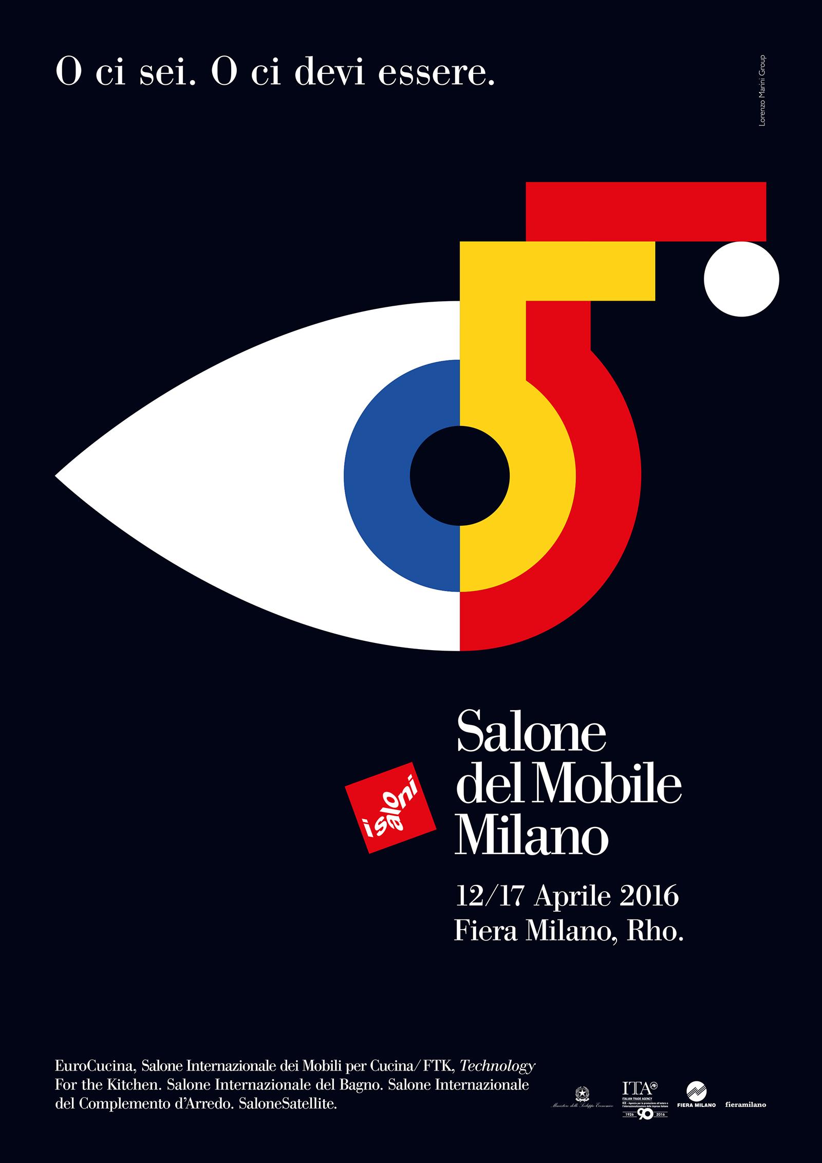 Salone del Mobile poster 2016