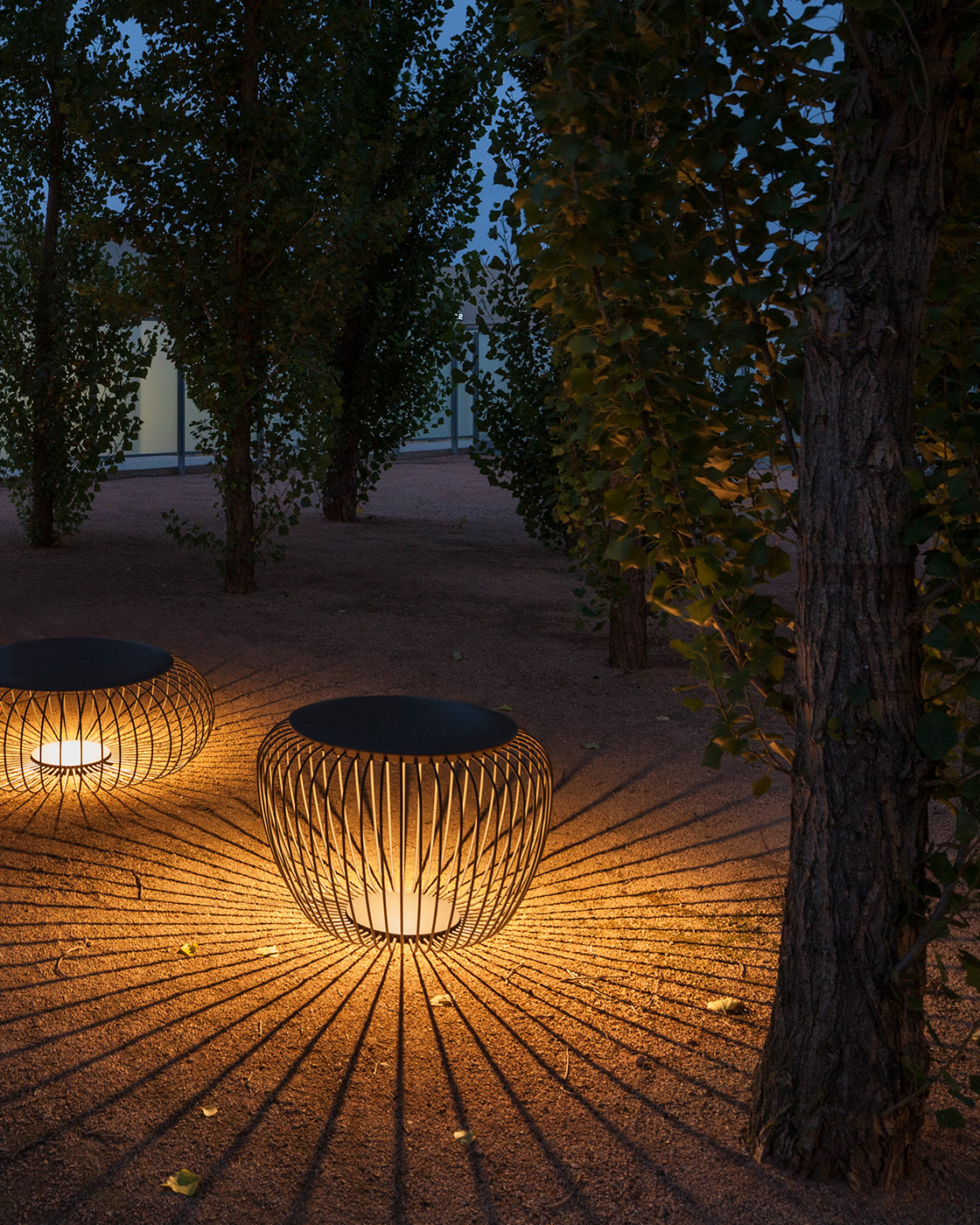 Meridiano outdoor light by Vibia