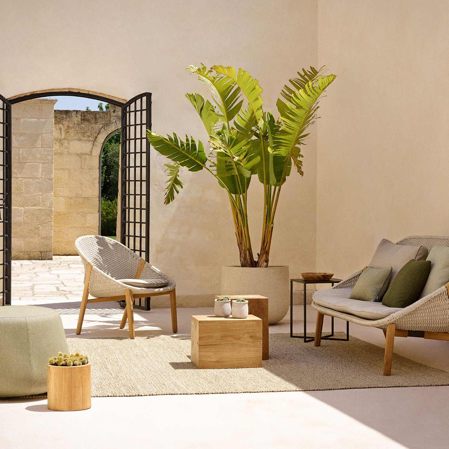 Elio outdoor furniture collection by Tribù