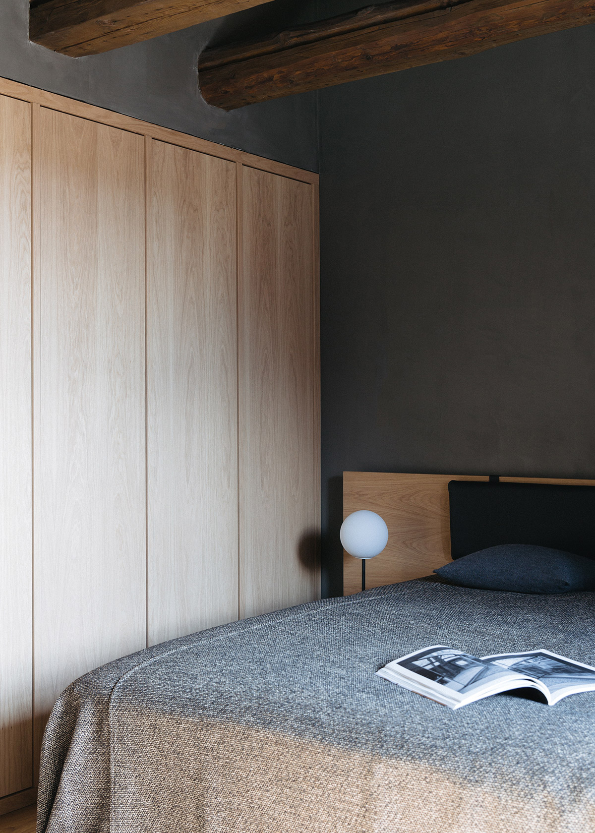 Modern minimal bedroom at The Audo