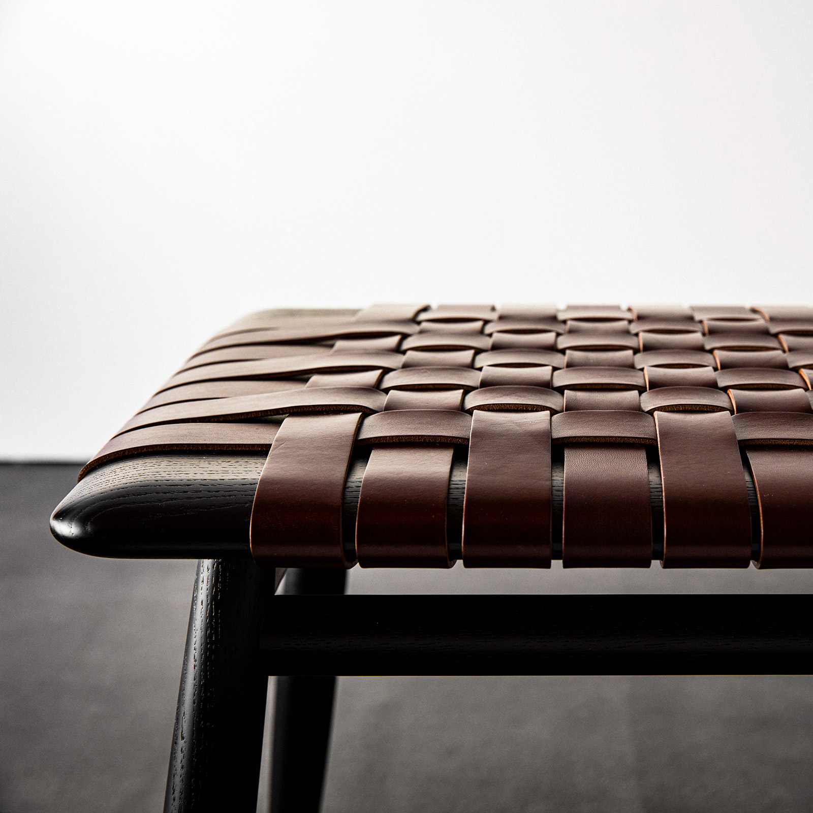 Detail of MO Bridge Stool by Ritzwell