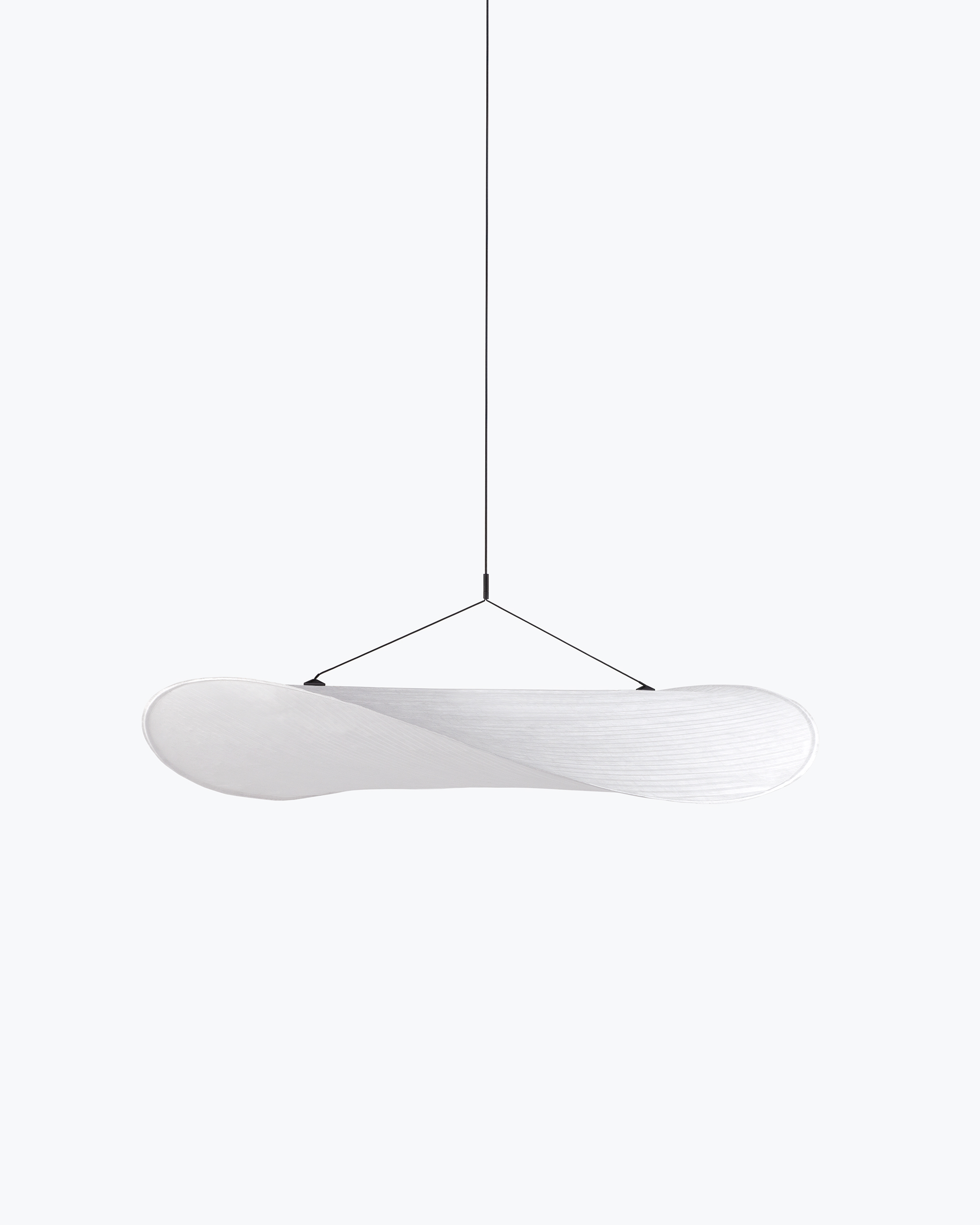 Japanese style white pendant lamp by New Works