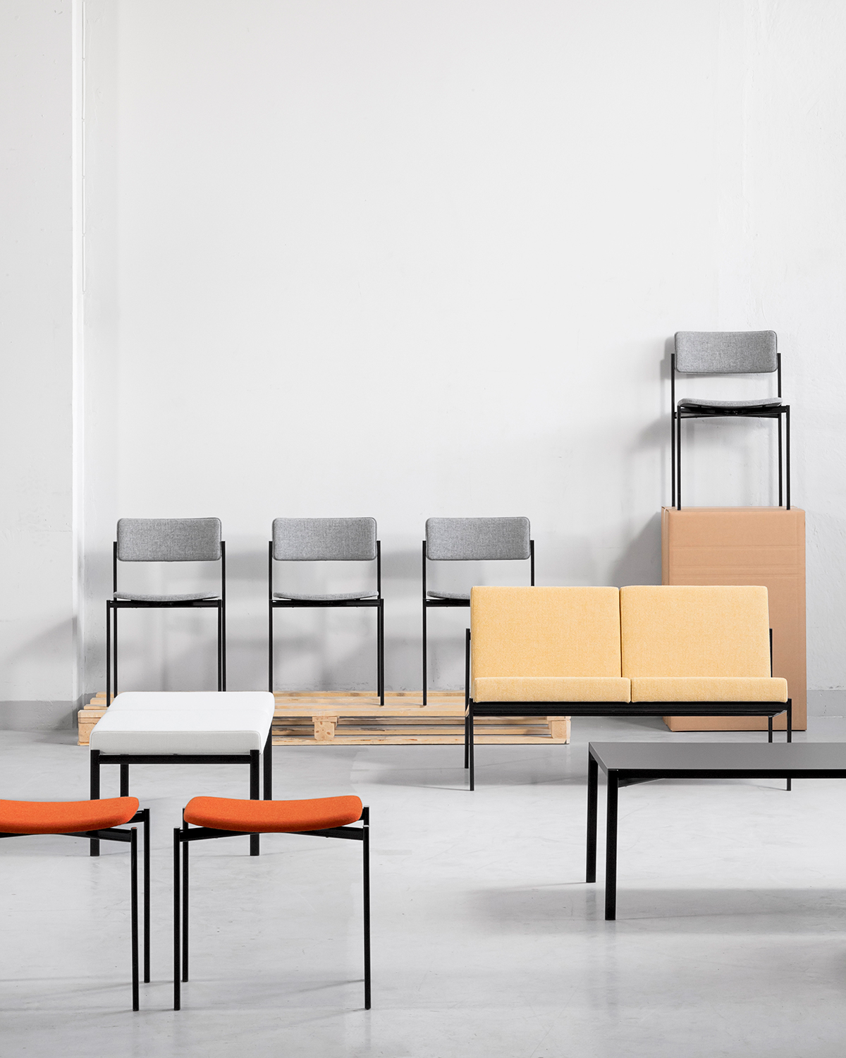 1960s modernist furniture collection - Kiki by Artek
