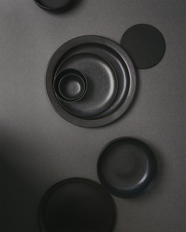 New Norm Dinnerware range by Menu in dark glaze