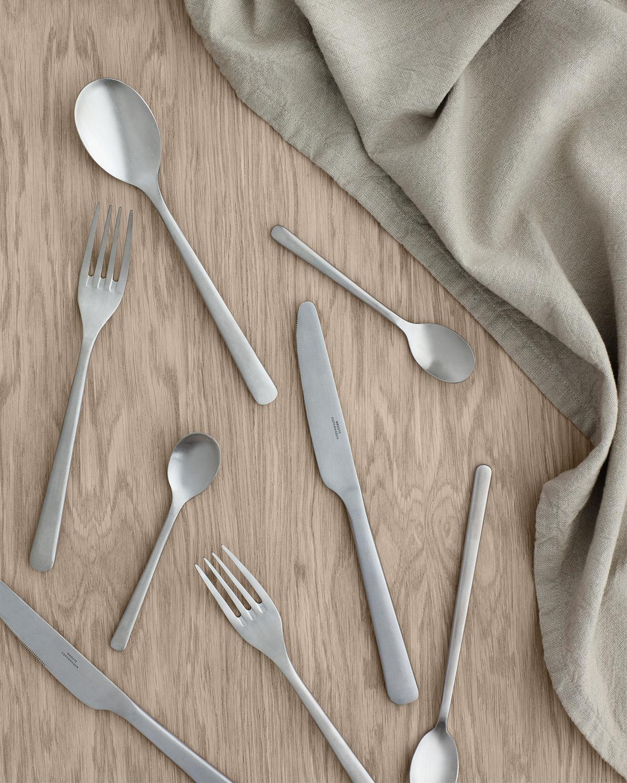 Hune cutlery in stainless steel by Broste Copenhagen