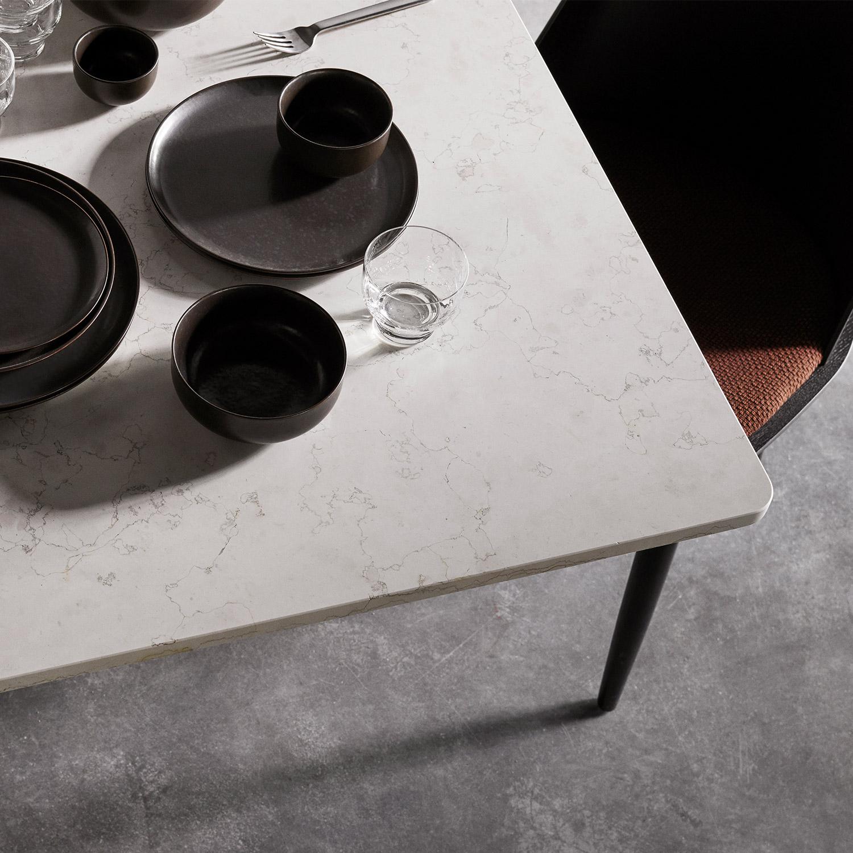 New Norm Dinnerware in dark glaze by Menu