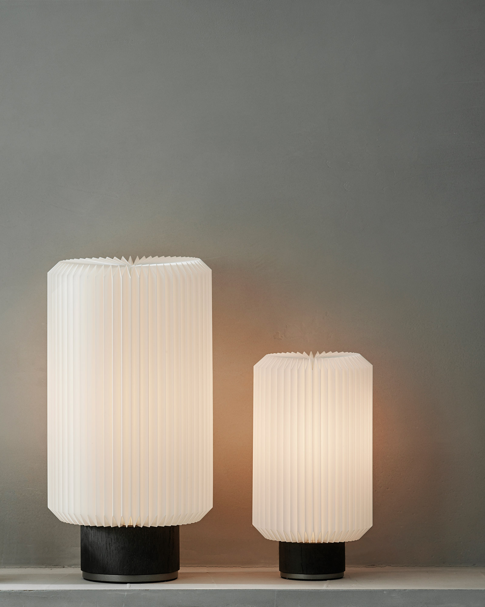 Cylinder table lamp by Le Klint