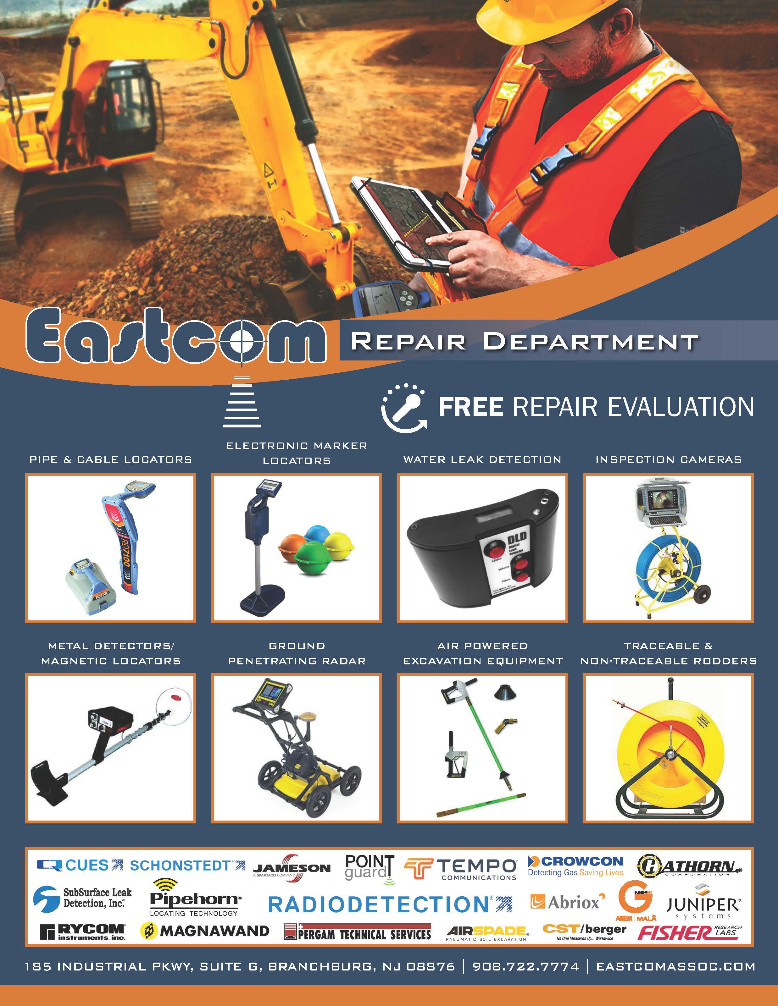 Eastcom repair flyer