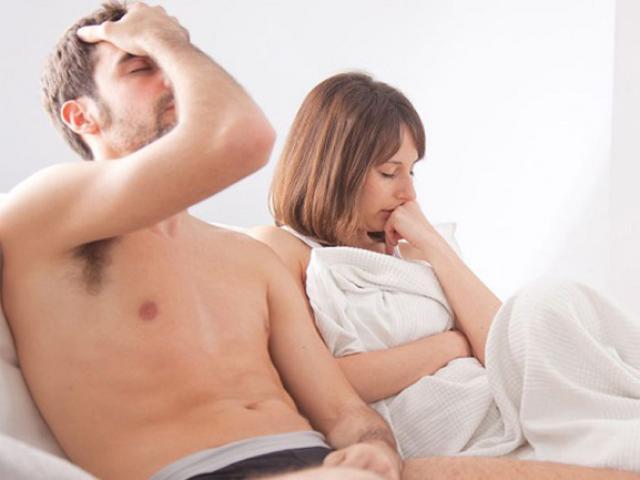 Dương vật cương nhưng không cứng gây mâu thuẫn vợ chồng