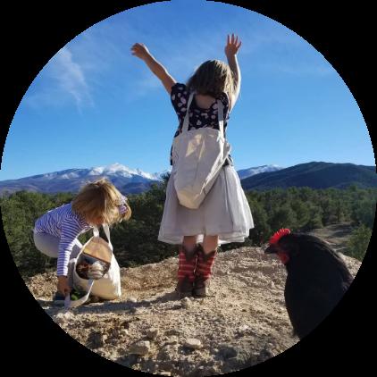 Kids on a Mountain Top