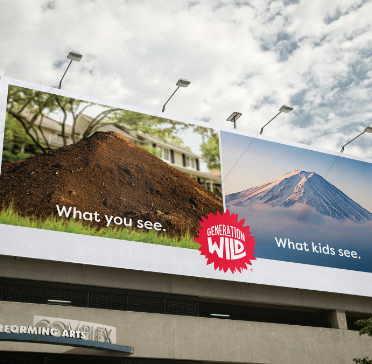 What you see billboard