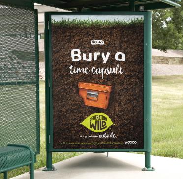 Bury a time capsule