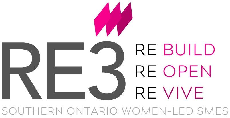 RE3 Southern Ontario women-led SMES logo