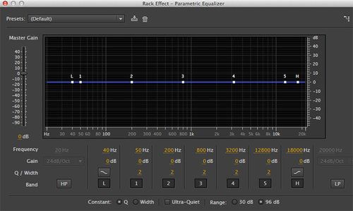 EQ in Adobe Audition