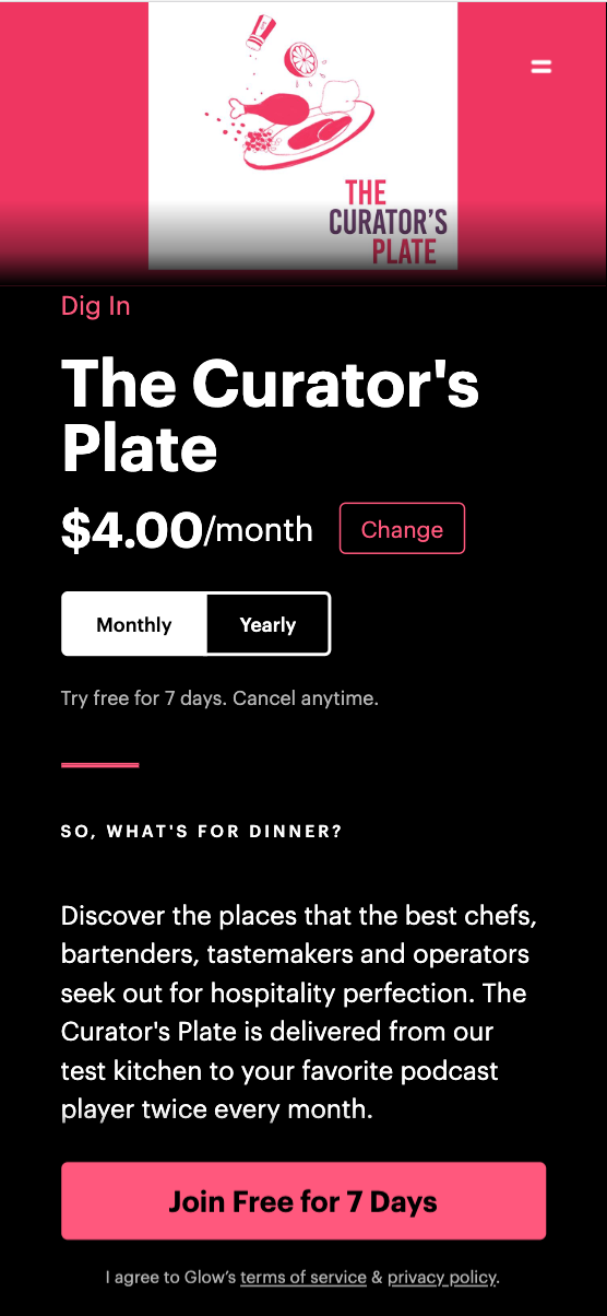 The Curator's Plate