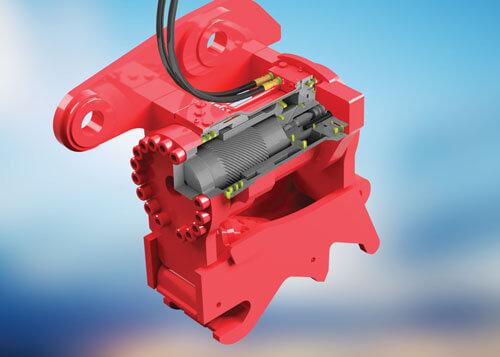Helac Powertilt rotary actuator