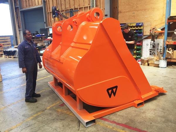 Wedgelock large bucket