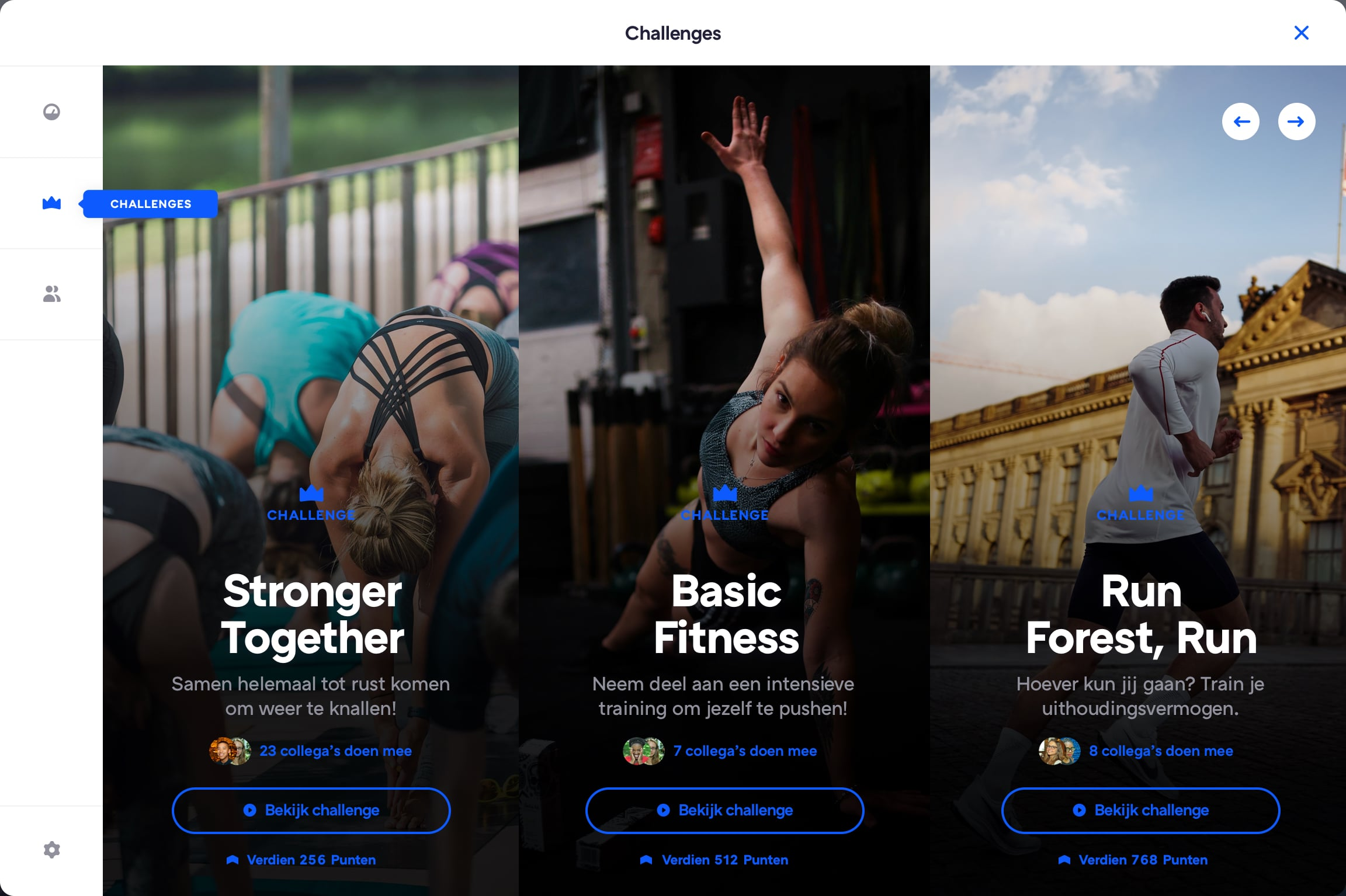 challenge platform
