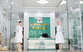 Lỗi vào phòng khám Thái Hà