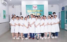 Đội ngũ y bác sĩ phòng khám Thái Hà